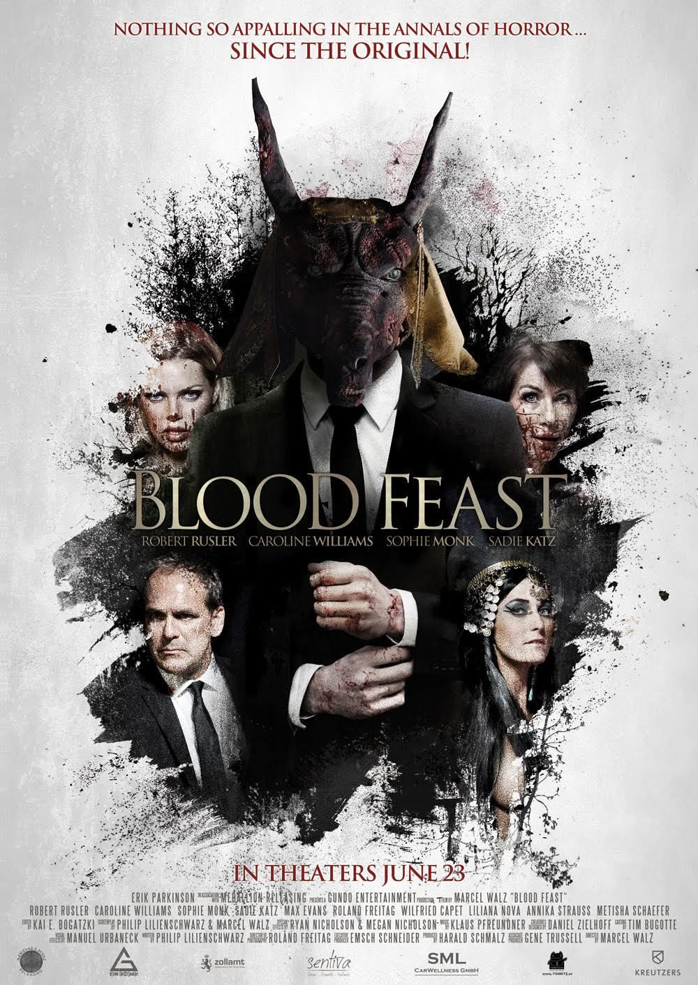 Blood Feast New halloween movie, New movie posters