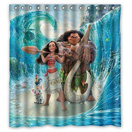 scottshop custom moana movie shower curtain waterproof anti mildew