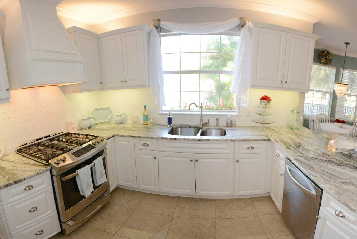 this is a remodeled kitchen hci did in gainesville fl the kitchen features white