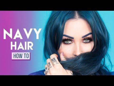 How I Dye My Hair Navy Blue With Arctic Fox Hair Color