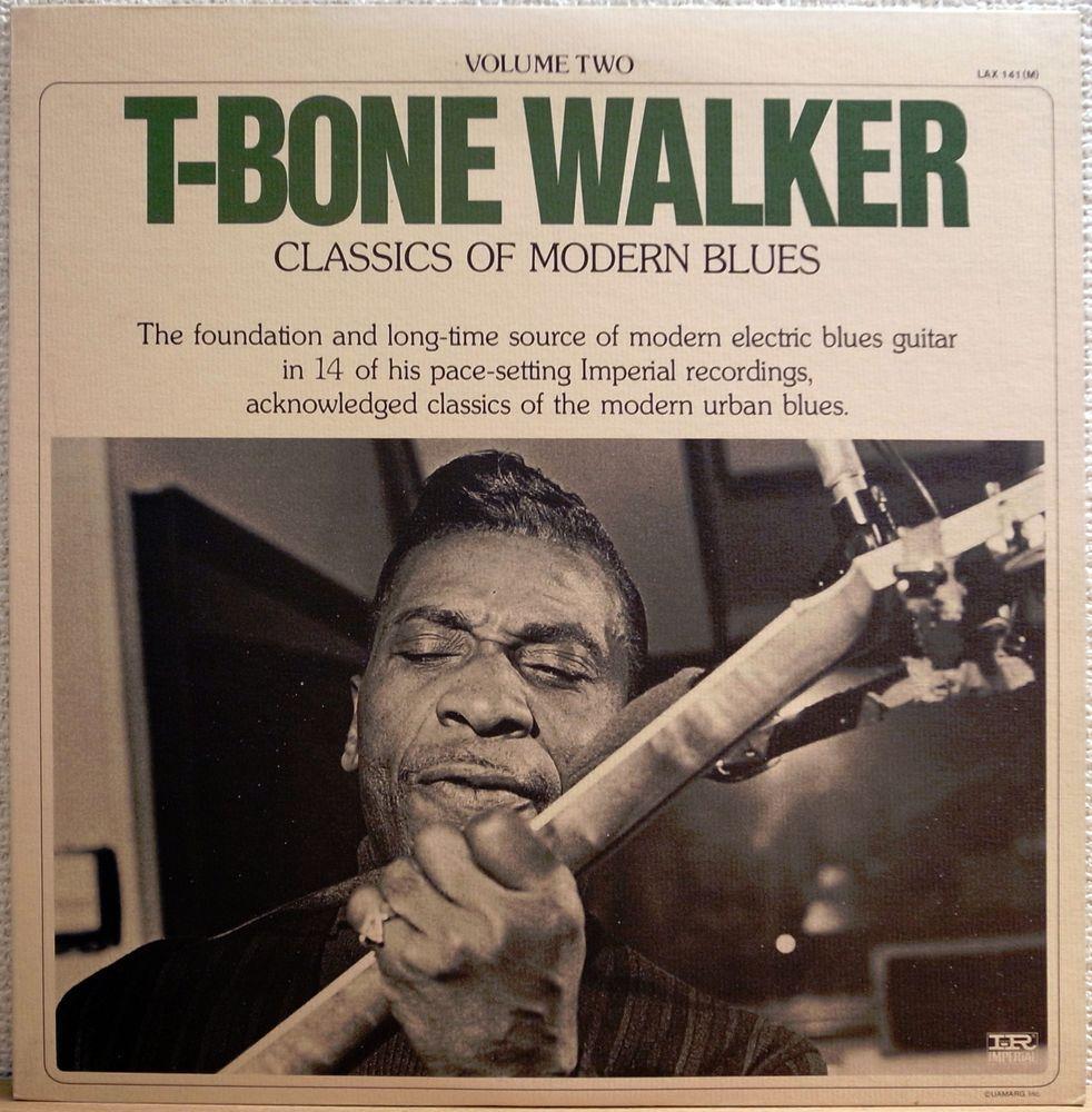 T Bone Walker Classic Of Modern Blues Vol 2 King Japan Vinyl Records Classic Lp Vinyl