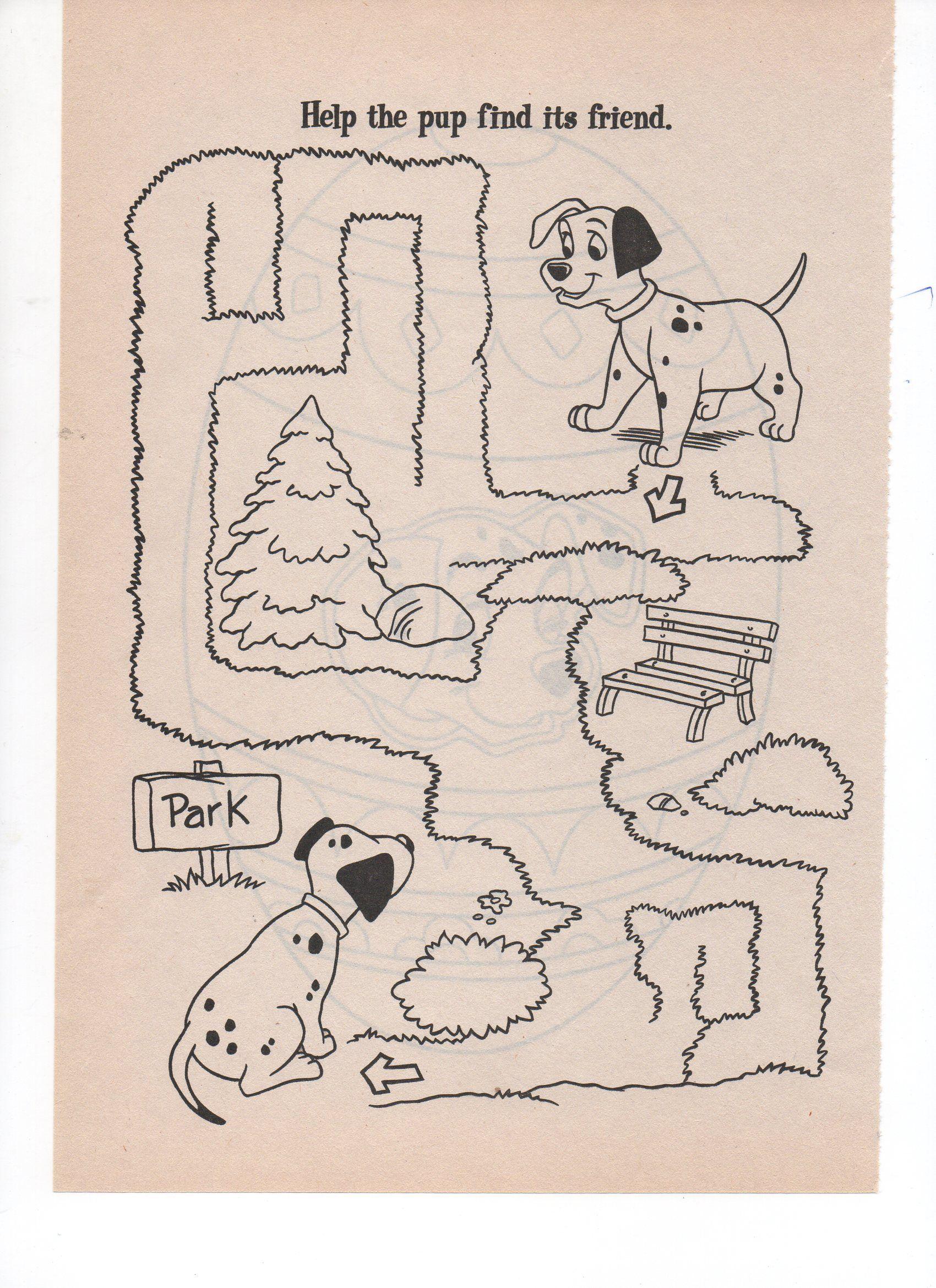 101 Dalmations Maze