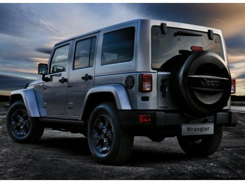 Jeep Wrangler Spare Tire Cover Hard Jeep Logo Part No