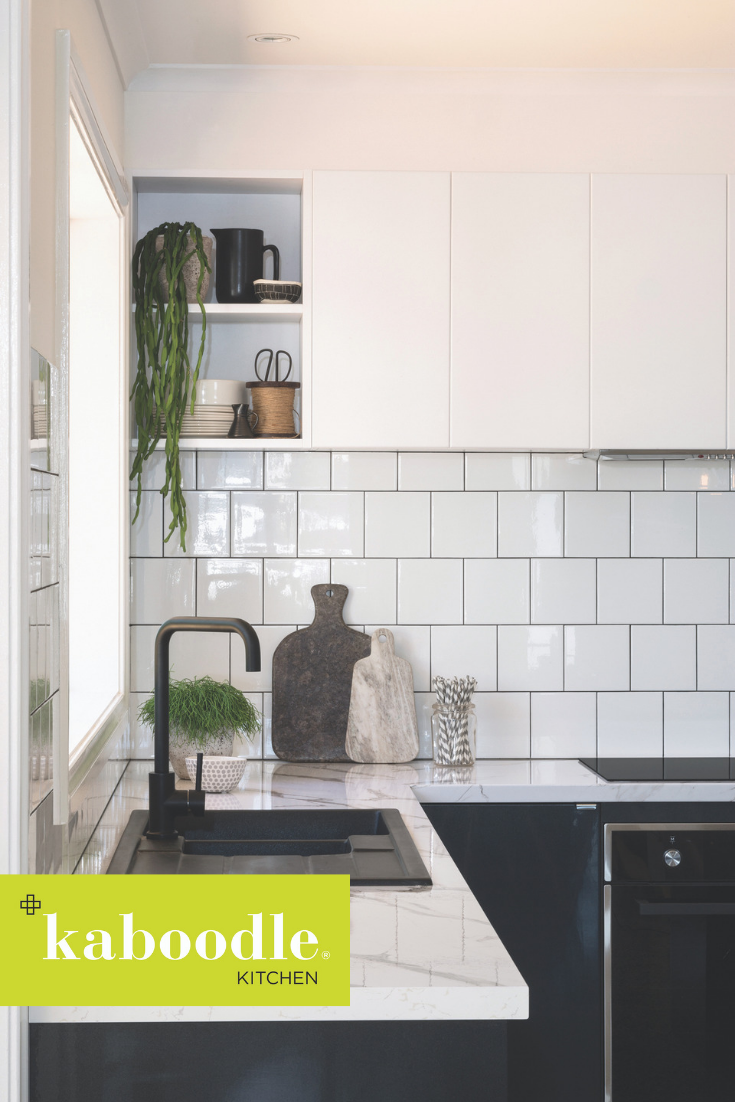 Did You Know You Can Create Your Very Own Open Wall Cabinet In Your Kitchen Using Our End Pa Kitchen Renovation Kitchen Inspirations Kaboodle Kitchen Bunnings