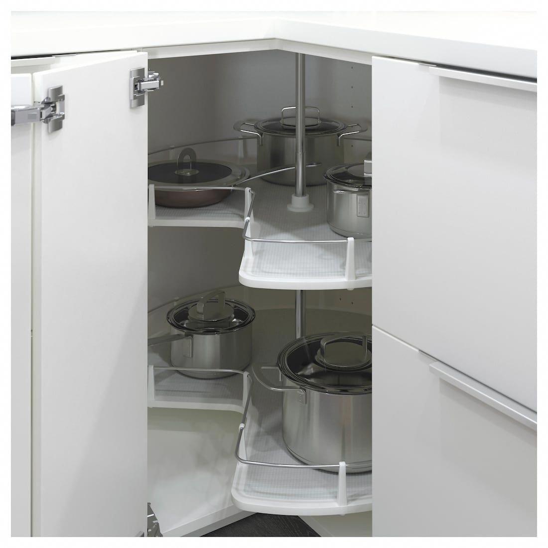 Utrusta Corner Base Cabinet Carousel Ikea Corner Base Cabinet Base Cabinets Ikea Kitchen Cabinets
