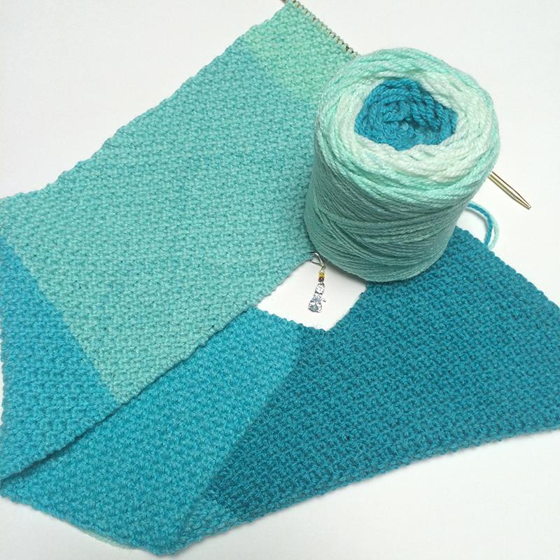 Knitting Yarn Scarf : Knitting a scarf pattern few weeks ago i posted