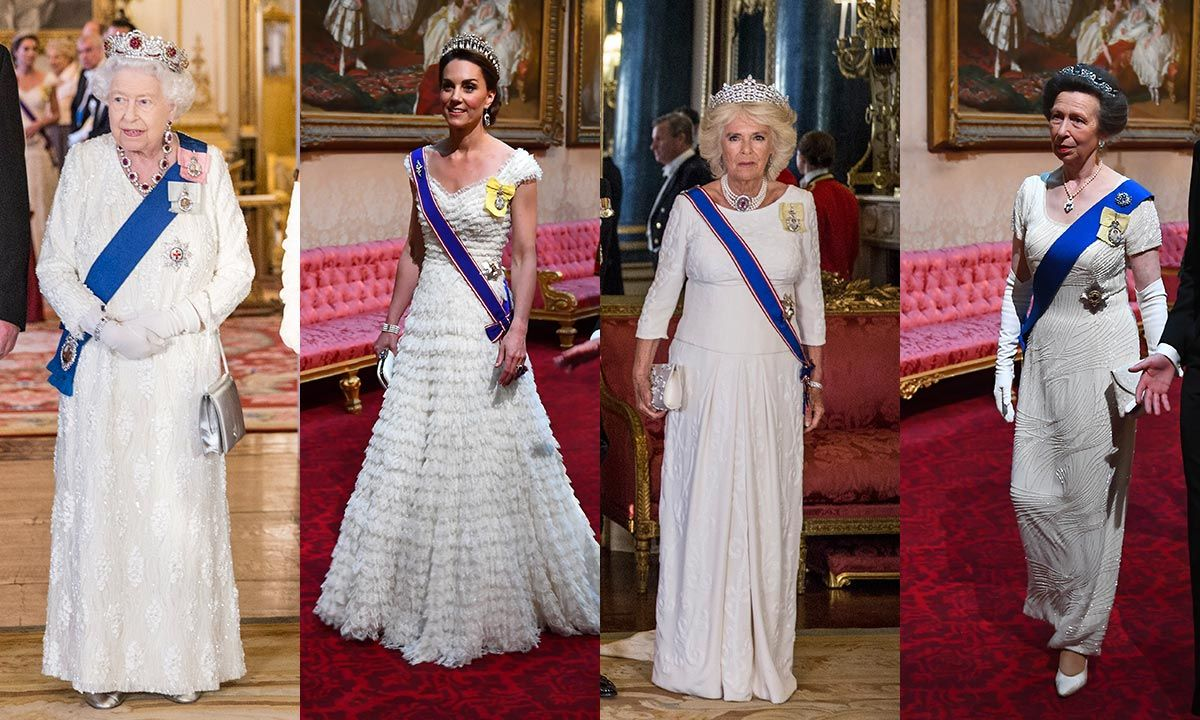 Is this the special reason the royals wore white to