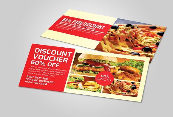 Food Gift Voucher Template  Template Food Gifts And Flyers