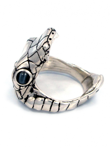 """Venom"" Ring by Han Cholo (Silver Tone) #InkedShop #venom #snake #ring #style #fashion #jewelry"