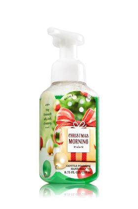 Christmas Morning Gentle Foaming Hand Soap Bath Body Works