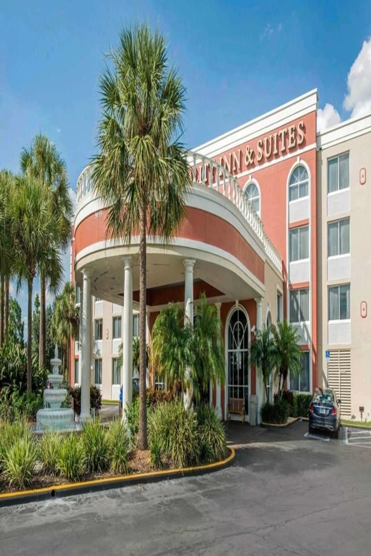 Quality Inn Suites Is A 5 Minutes Drive From The Universal