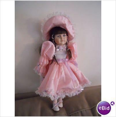 Hello Dolly Signature Series Jordan Porcelain Doll Find Me