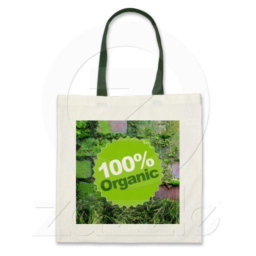 100% Organic Tote Bag