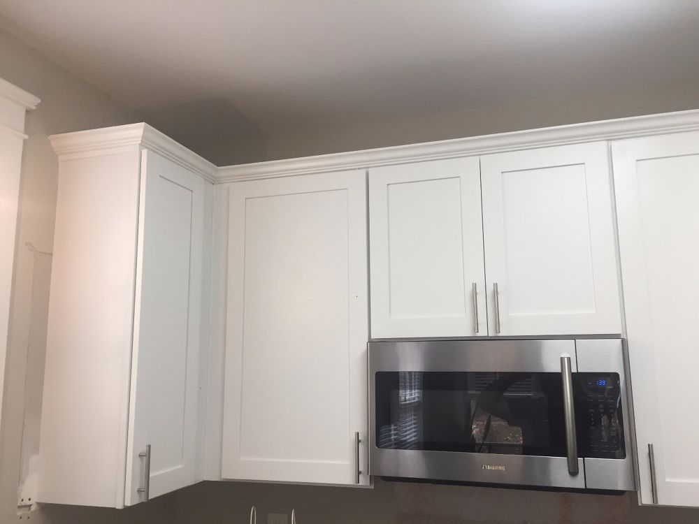 Kitchen Cabinet Crown Molding Make