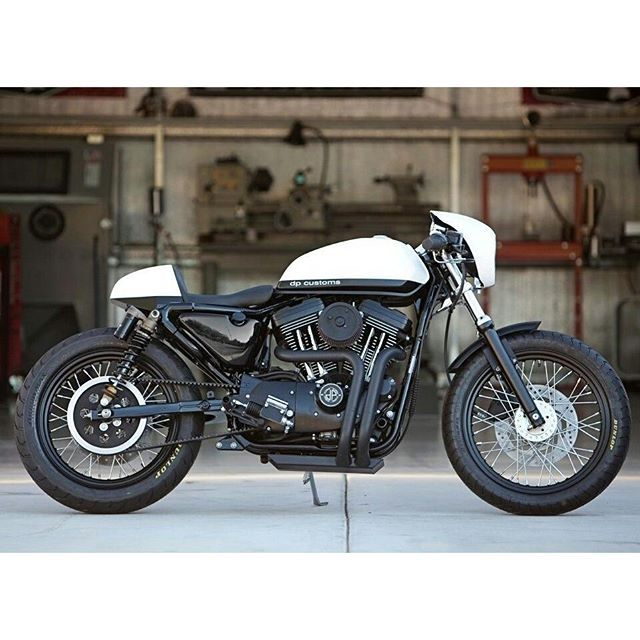 Harley Davidson Sportster 1200 By Dp Customs Harleydavidson Caferacer Bobber