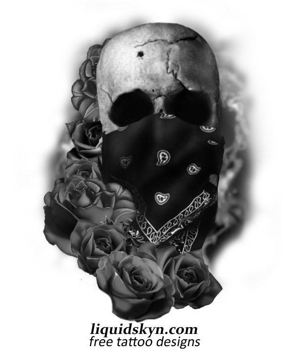 Skull Clown Tattoo Designs Gang Tattoos Gangster Tattoo Designs