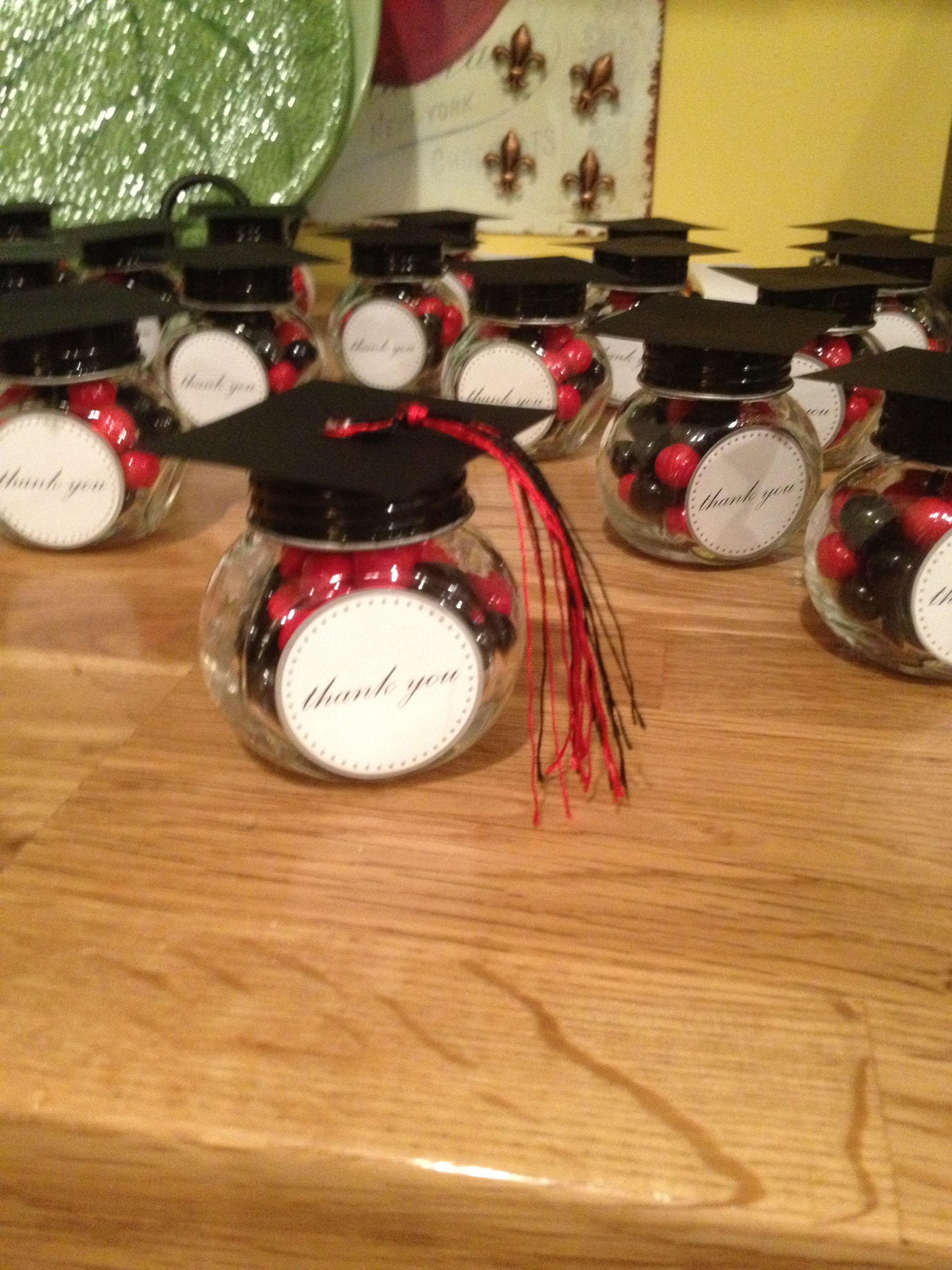 Small Crop Of Graduation Party Favors