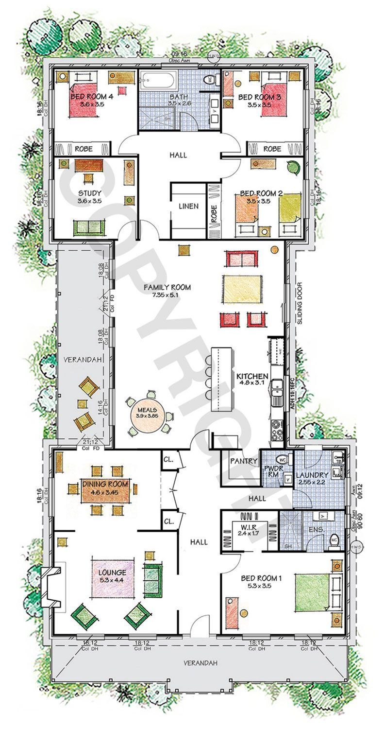 The Camden Floor Plan Download A Pdf Here Paal Kit Homes Offer Easy To Build Steel Frame Kit Hom Home Design Floor Plans Dream House Plans House Blueprints