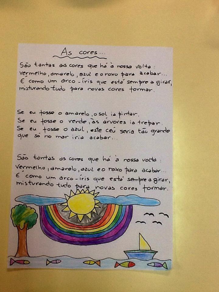 Arco Iris Poesia Infantil Rimas Dicas De Fotografia Na Praia