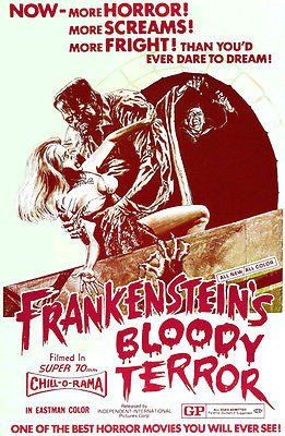 Download Frankenstein's Bloody Terror Full-Movie Free