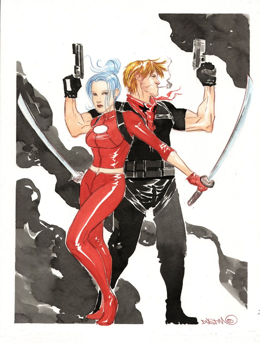 Grifter & Zealot - Dustin Nguyen | Comic Art: Dustin ...