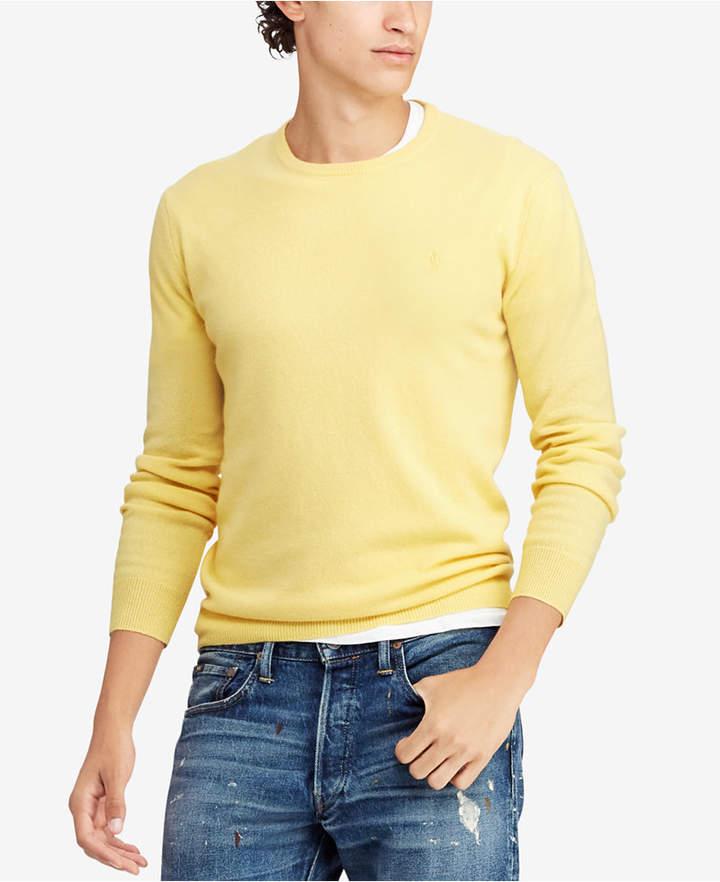 Polo Ralph Lauren Men Cashmere Crew Neck Sweater in 2019