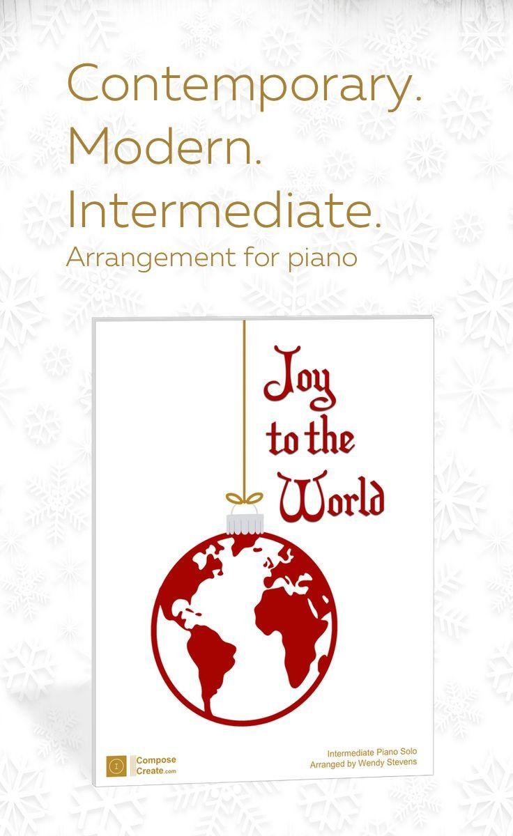 Joy to the World - Intermediate piano arrangement | Joy to the world, Joy, Carol of the bells