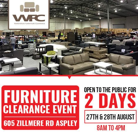 Wfc Has Announced The Furniture Clearance On Brand New