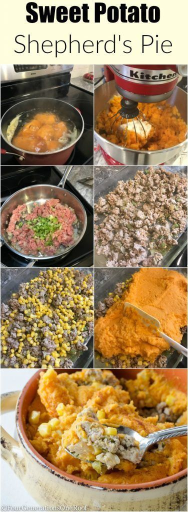 Sweet Potato Shepherd's Pie #shepardspie