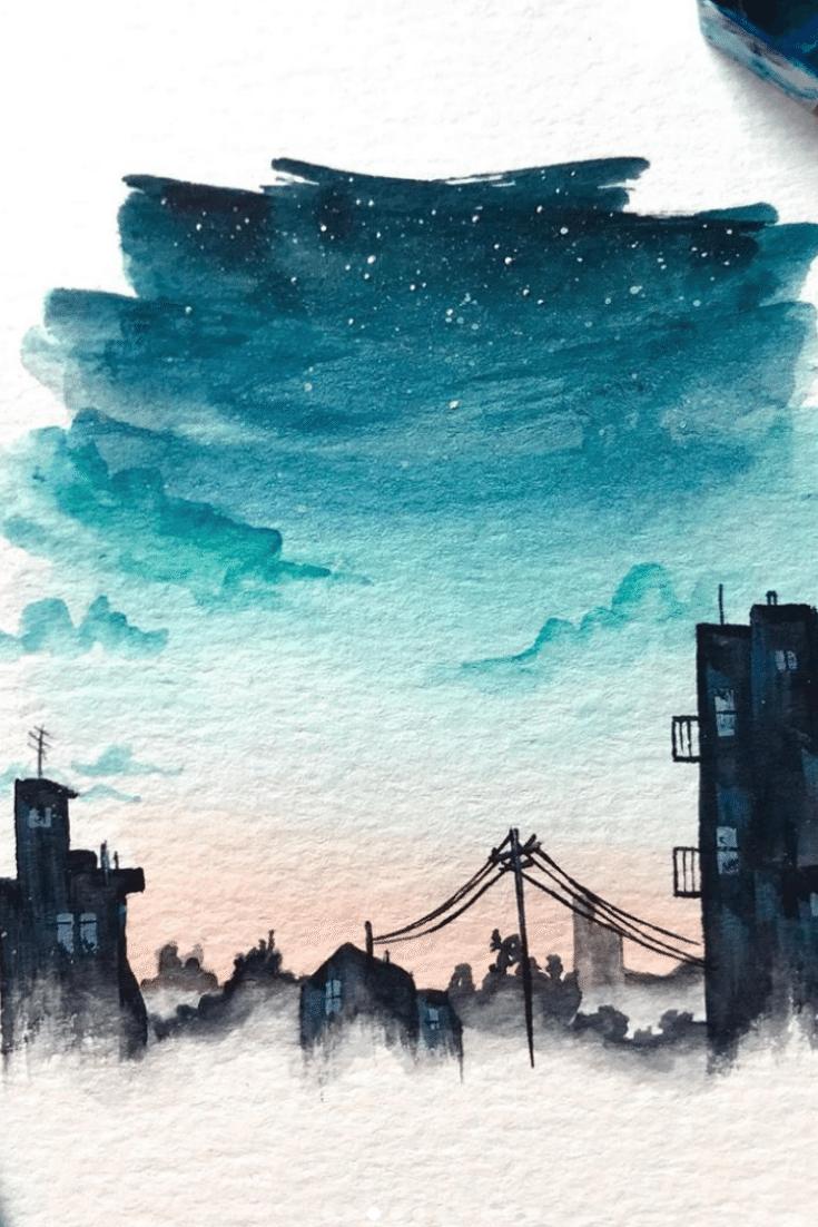 10 indispensable Watercolor Instagram artists # # AquarellInstagramKünstler #kunstaquarell un …