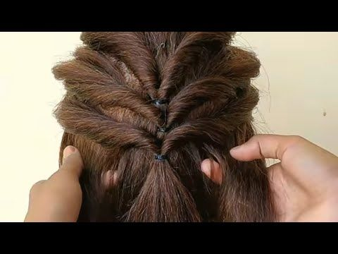 AWESOME HAIRSTYLE FOR WEDDING & FUNCTION