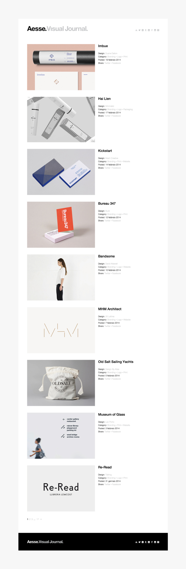 Aesse · Identity and Web site. by Alessandro Scarpellini, via Behance