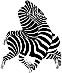 نتيجة بحث الصور عن رسم خداع بصري Victor Vasarely Op Art Optical Art
