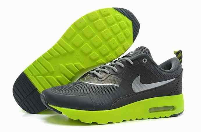 sports shoes f0a68 b4ca8 2014 New Nike Air Max 90 87 HYP PRM Mens Shoes Online Dark Grey Green…