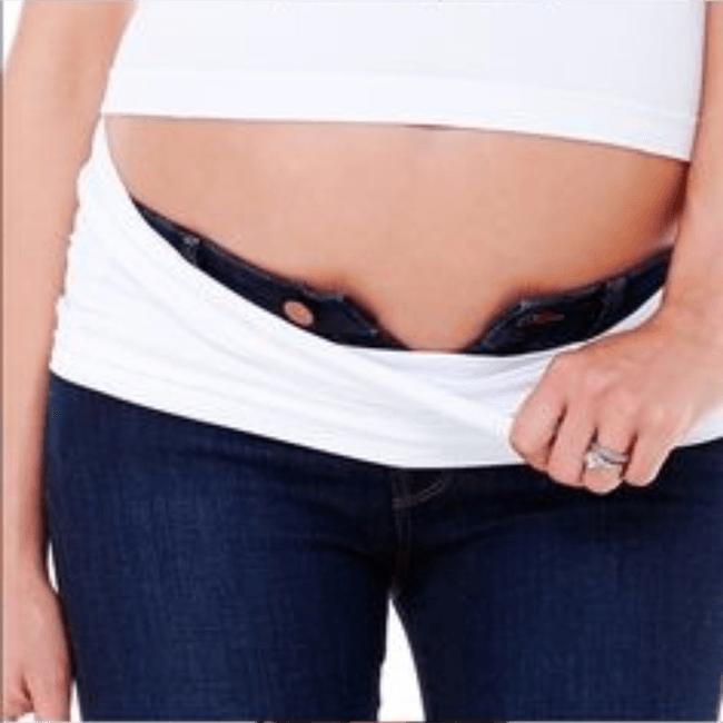 913c0bf2f Como aproveitar a sua calça jeans na gravidez   Gestação   Cinta ...