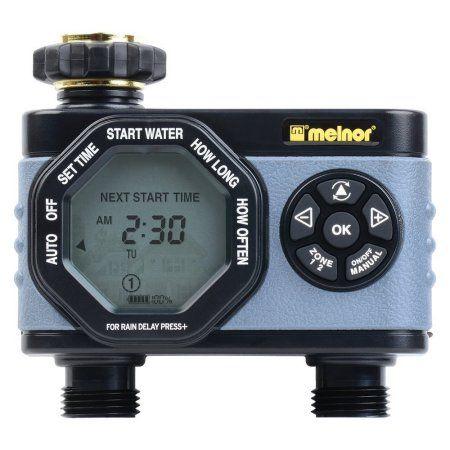 Melnor Hydrologic 2-Zone Digital Water Timer - Buy More