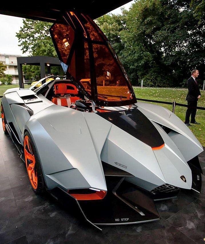 Lamborghini Egoista Concept Car Black: Lamborghini Egoista Started For Concept Car En 2020 (con