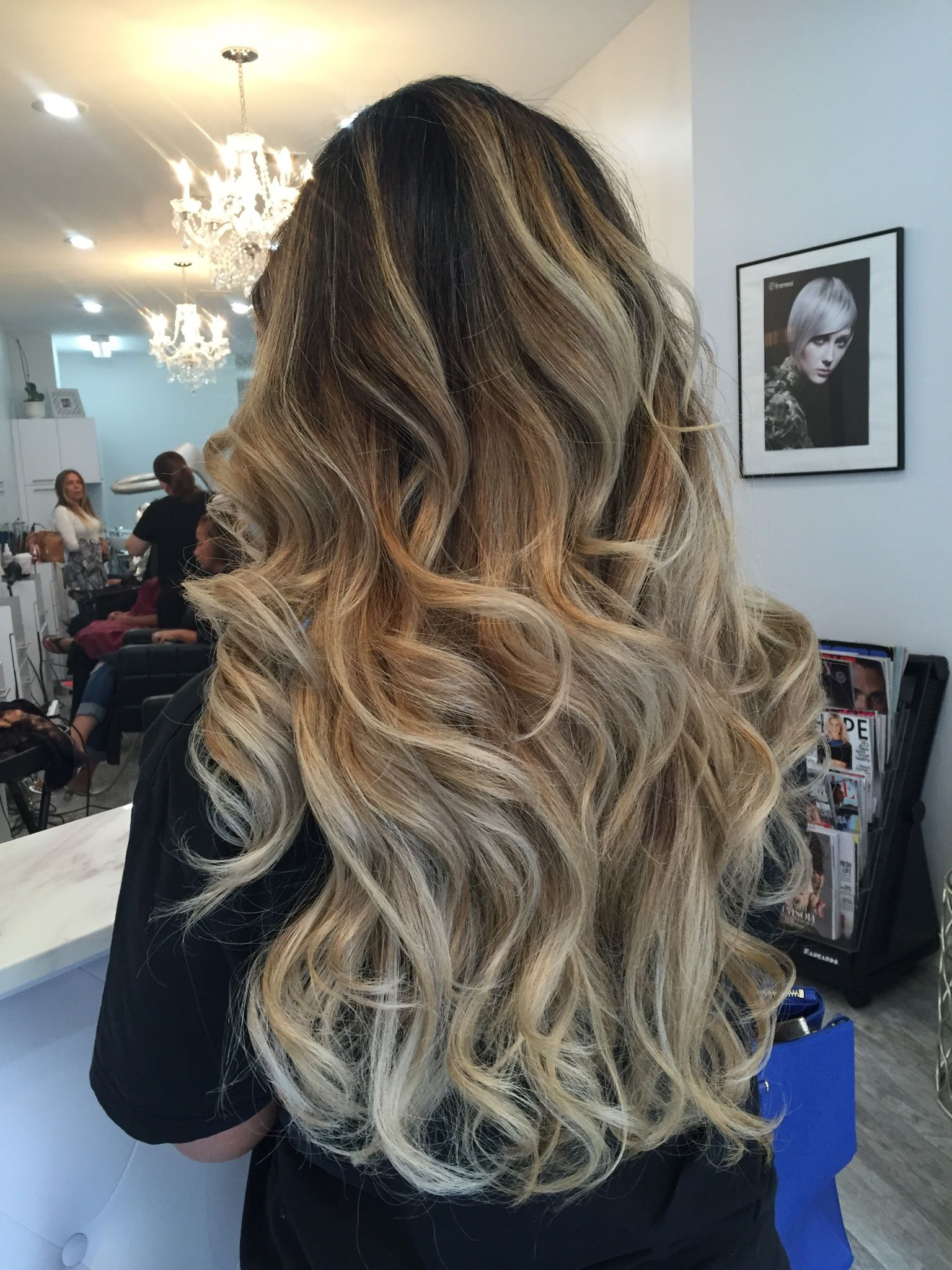 Blonde Balayage Dark Roots Instagram Jennsellsnj In 2019