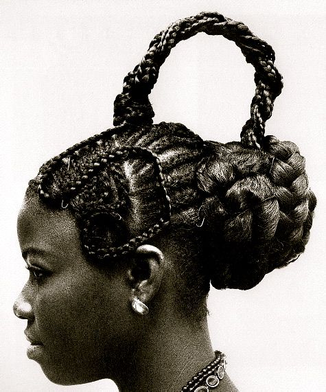 Nigerian Hairstyles Nigeria Is Made Of Many Tribes This Hairstyle Is From The Yoruba Tribe African Hairstyles Traditional Hairstyle Black Hair