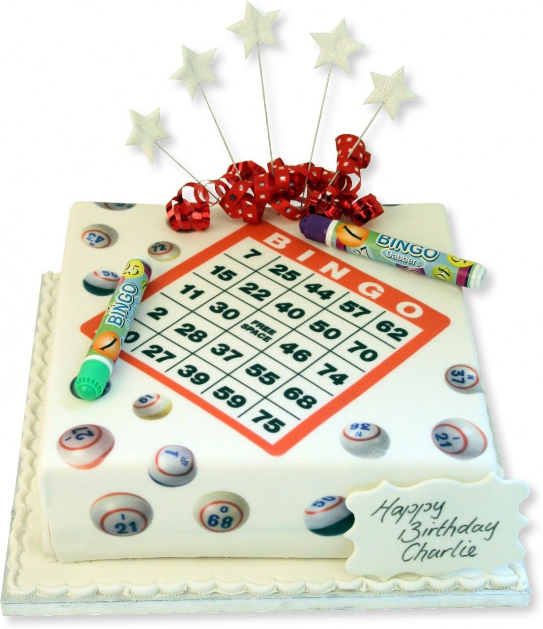 CAKES ADULT BIRTHDAY GIRLIE Bingo Cake Cakes fProfessionals