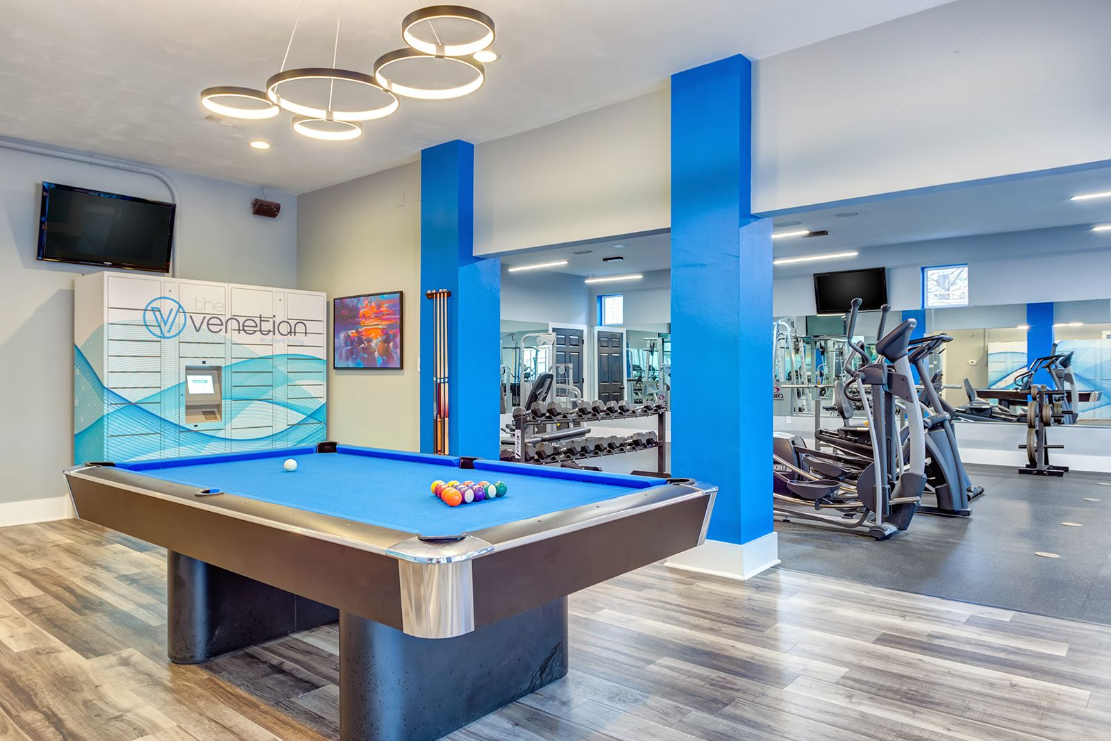 Come relax or maybe play a game of pool with your fellow