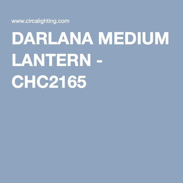 DARLANA MEDIUM LANTERN - CHC2165