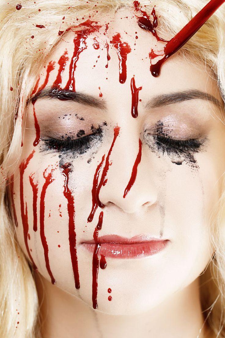 how to apply fake blood makeup Google Search Fake