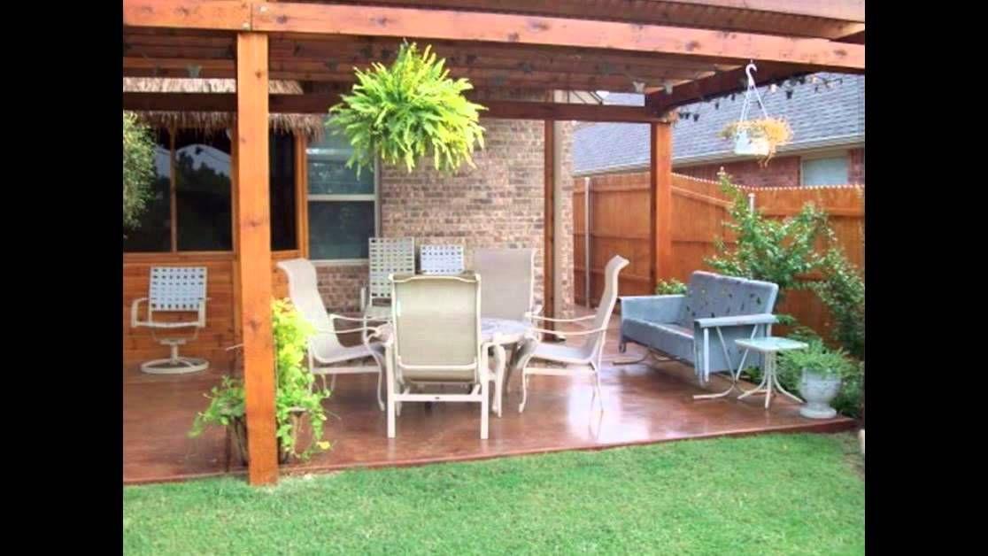 Back Yard Landscaping Ideas On a Budget   Backyard Patio ...