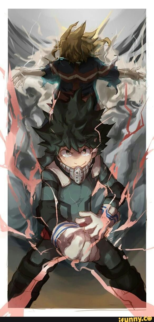 Boku No Hero Academia My Hero Academia One For All Izuku Midoriya All Might My Hero Academia Boku No Hero Academia My Hero