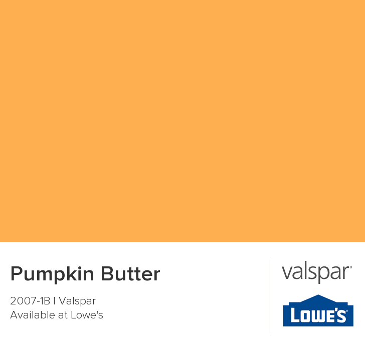 Pumpkin Butter From Valspar Valspar Paint Colors Valspar Paint Painting Bathroom