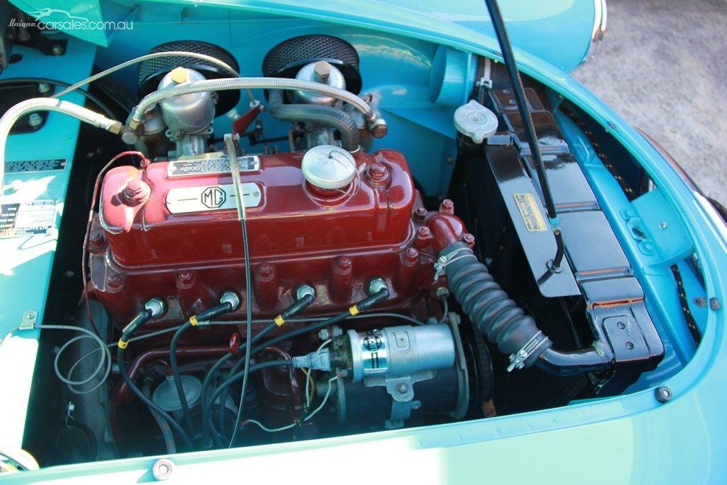 1959 M.G. A MK 1   Unique Engine Bays   Pinterest   Unique cars ...