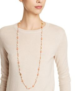 0b67b6da9e38c7 Tory Burch Crystal-pearl Convertible Necklace | Jewelry - Necklaces ...