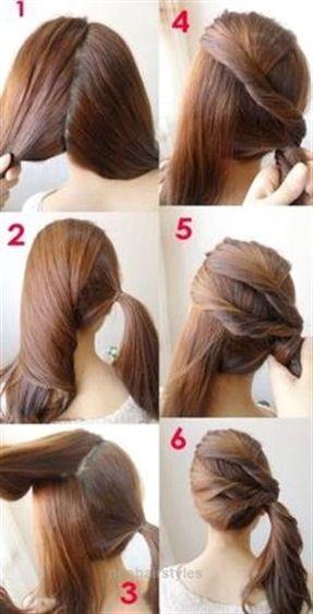 easy hairstyles school girls