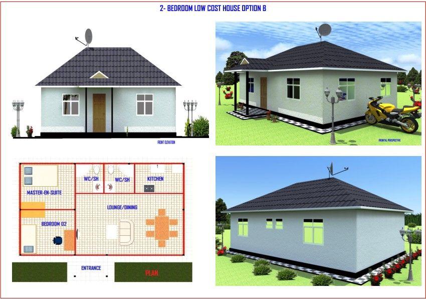 Charming Two Bedroom House Plans In Kenya #6: 2 Bedroom House Plans Kenya Memsaheb Net